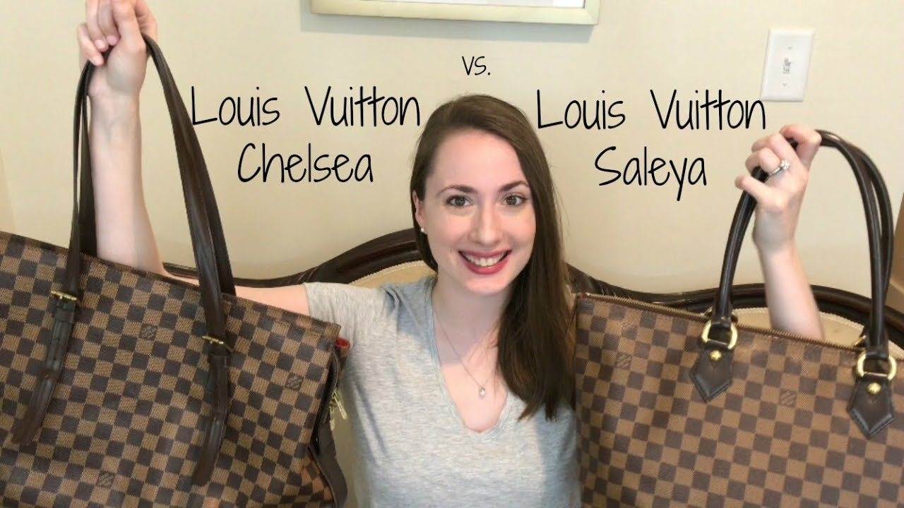 Louis Vuitton Chelsea and Saleya Tote   Detailed Review   What Fits Inside    Comparison 6e88a172d7