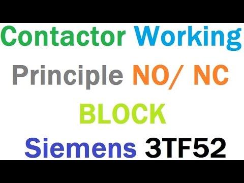 Contactor Working Principle Siemens 3TF52