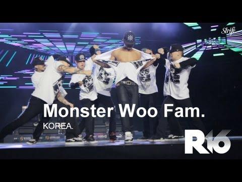 Insane Krumping Showcase - Monster Woo Fam | STRIFE. | R16 Korea 2013