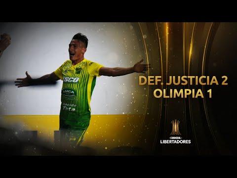 Defensa y Justicia Olimpia Asunción Goals And Highlights