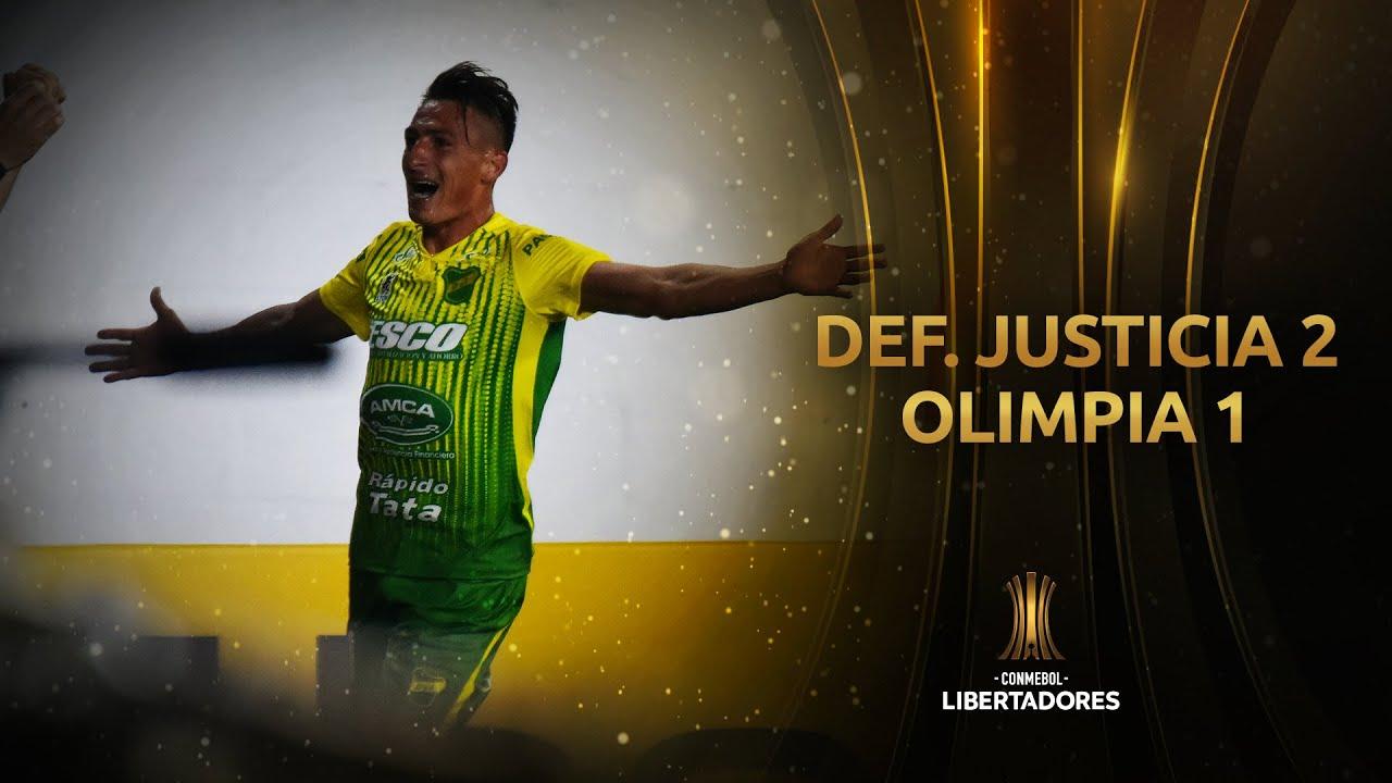 Defensa y Justicia vs. Olimpia [2-1]   RESUMEN   Fase de Grupos   Jornada 4   Libertadores 2020