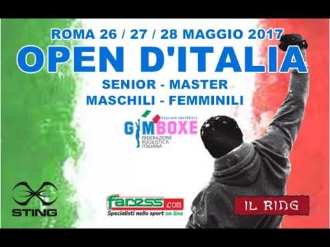 Open d'Italia Gym Boxe 2017