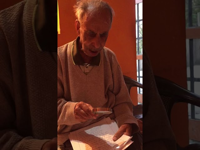 Poetry Entry | Shyamlal Khar | Jammu, India