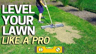 Level Your Lawn Low Spots Like a Pro - Tool for Sand Soil Or Peat