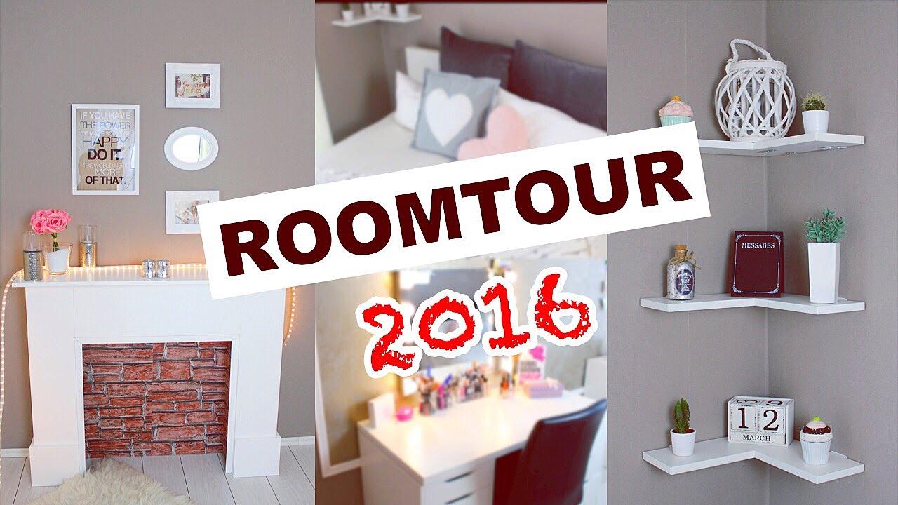 ROOMTOUR 2016 ❥ Zimmer umgestalten & dekorieren | Deutsch | annaxo ...