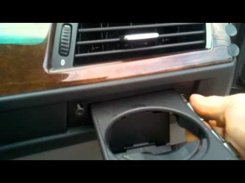 BMW, Cup Holder, Can Holder, Replacement, DIY Do It Yourself and Save Money E60 5 Series