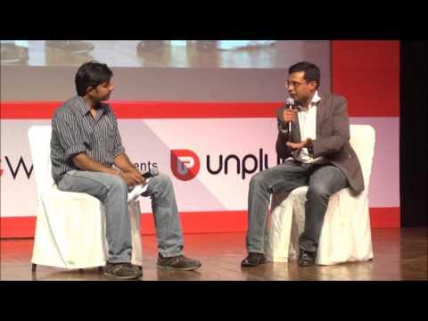 Flipkart CEO, Sachin Bansal UnPluggd @ UnPluggd 7