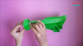 How to make Pencil Box Origami | DIY | PaperMade