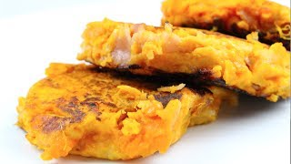 Sweet Potato & Ham Fritters