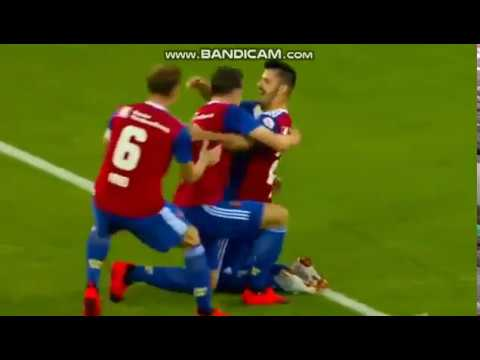 FC Basel vs Vitesse Highlights Europa League Play off match