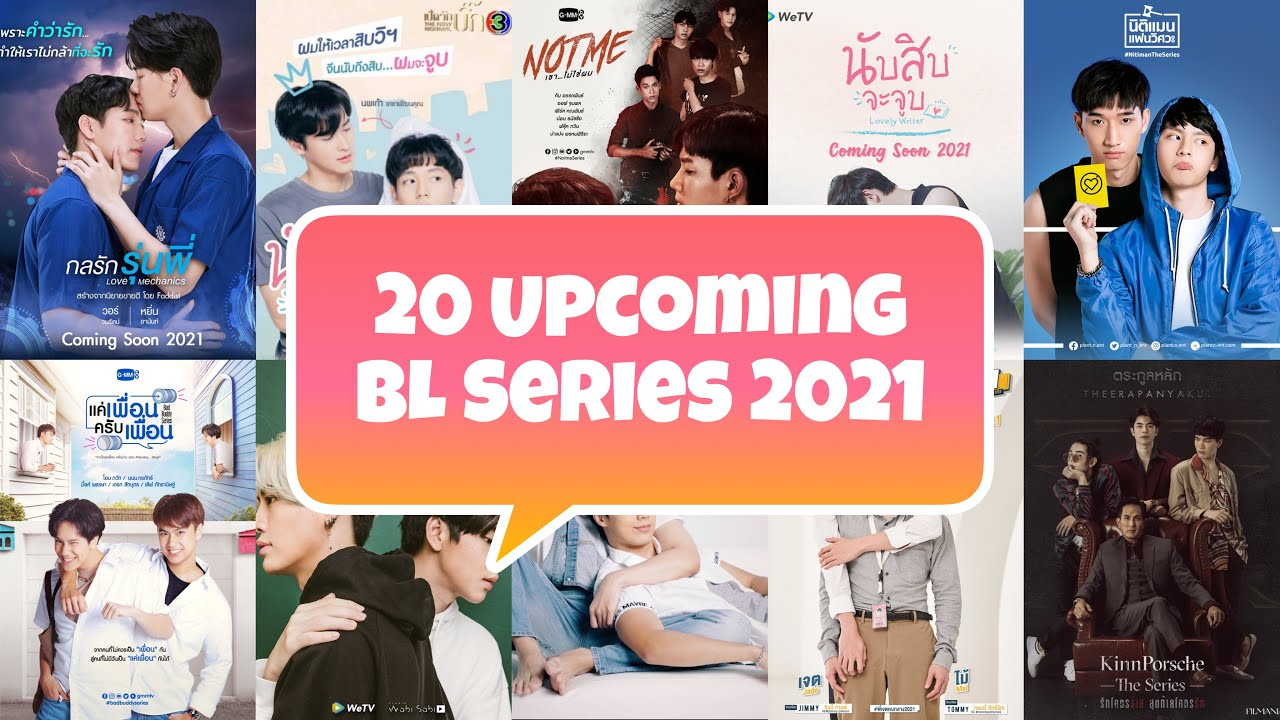 Download 20 New Upcoming Thai BL Series in 2021