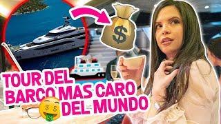 TOUR DEL BARCO MÁS CARO EN MIAMI | $200 MILLONES DE DÓLARES | EL MUNDO DE CAMILA