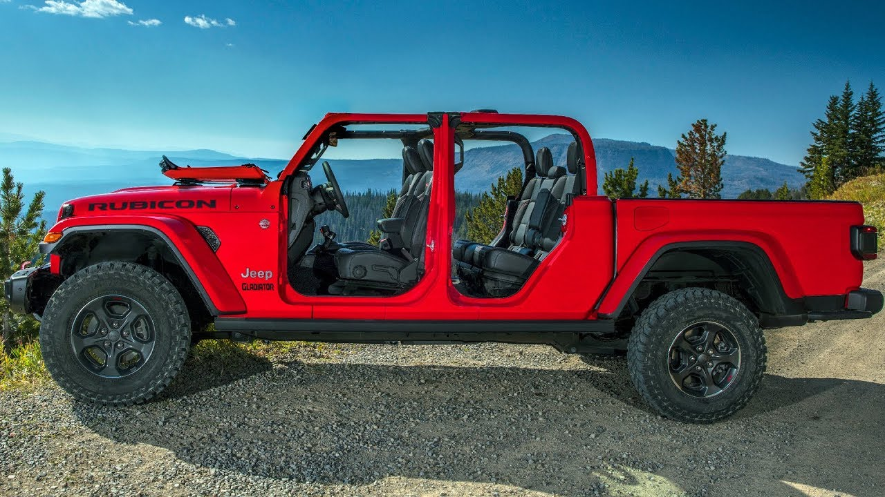 2020 Jeep Gladiator Features Design Off Road Driving Youtube