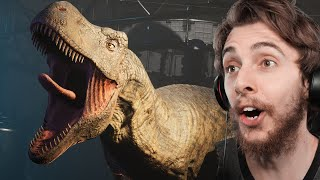 The Dinosaur Game We've Been Waiting For??? - Deathground | Reaction