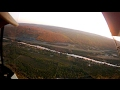 Deadstick Landing at Sunset