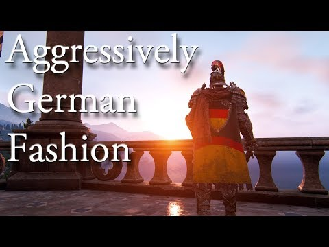Aggressively German Fashion - [For Honor]