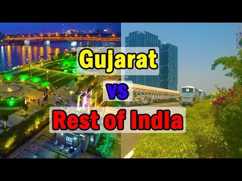 Gujarat vs Rest of India (Level of Development) 2018
