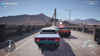 Need for Speed Payback - Big Sister's Ford Mustang Abandoned Car - Location and Gameplay (2nd Time)