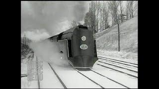 New York Central Streamlined Hudson COMMODORE VANDERBILT: Press Preview, December 14 1934