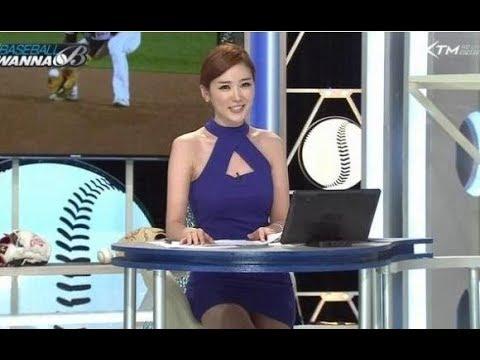 【ミニスカ】韓国の美女アナウンサーの三角ゾーンがエロすぎる!