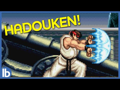 Ryu Can't Say Hadouken