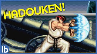Ryu Can't Say Hadouken