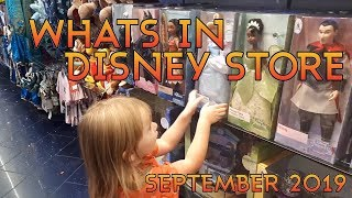 Toy Hunt Vlog - Whats In Disney Store September 2019 & Back To School Sale