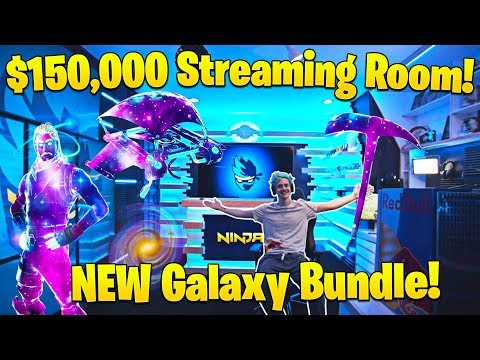 Ninja is the ONLY Fortnite Player with these skins! (NEW Galaxy Set) Fortnite Funny Moments