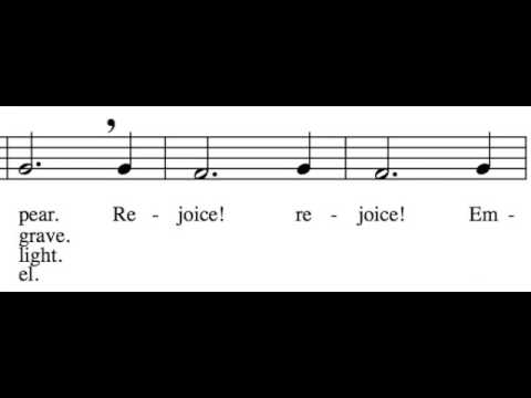 O Come, O Come, Emmanuel - Alto Only - Learn How to Sing Christmas Carols