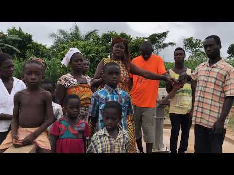 Fantsifokrom Village Water Project, Ghana 2019 by Plant Therapy - Success!