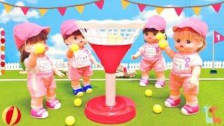 メルちゃん うんどうかい 運動会 / Mell-chan Doll Sports Day