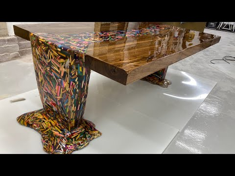 This pencil flow table is mesmerizing-[Video]
