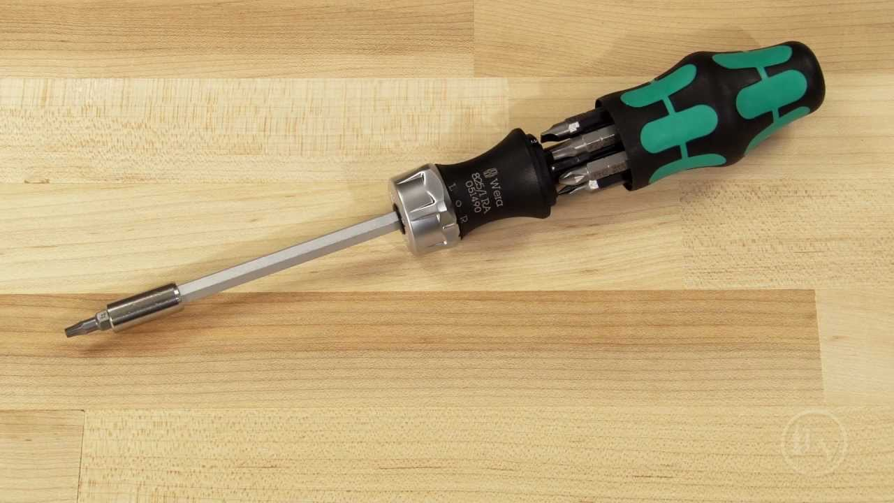 wera kraftform kompakt ratcheting screwdriver youtube. Black Bedroom Furniture Sets. Home Design Ideas