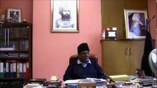 Ijtema 2012 - Interview with Amir Jama'at UK