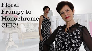 ???????? FRUMPY TO CHIC ⎢HOW TO CREATE MONOCHROME OUTFITS