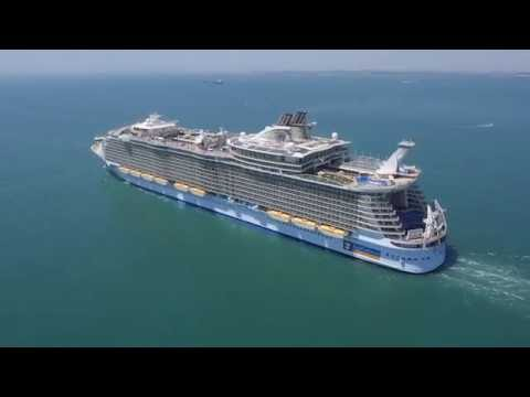 "NAVANTIA Shiprepairs Cádiz: ""Allure of the Seas"" (Royal Caribbean)"