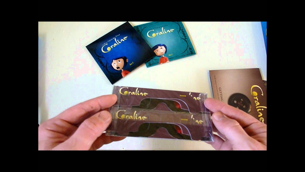 Coraline Blu Ray Box Set Youtube
