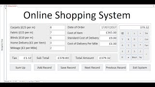 How to create billing systems and calculator in microsoft access 2016 with form using vba programming editor marcos. this tutorial also includes c...