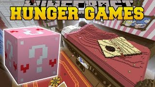 Minecraft: ALICE IN WONDERLAND HUNGER GAMES - Lucky Block Mod - Modded Mini-Game