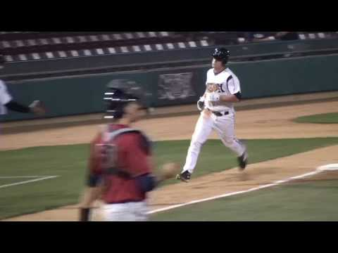 Logan Forsythe of the Lake Elsinore Storm (HD)