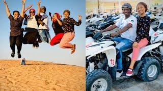 Arziki me dadi! Rahama Sadau da Yan'uwanta suna shakatawa a kasar Dubai