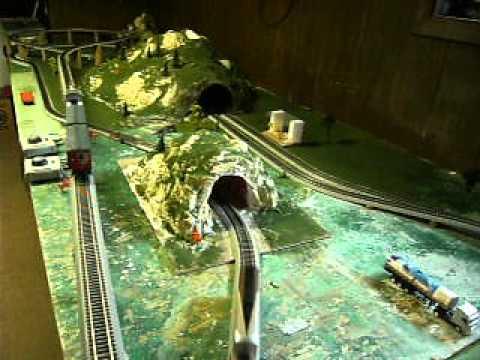 Bachman HO Scale Model Train Set