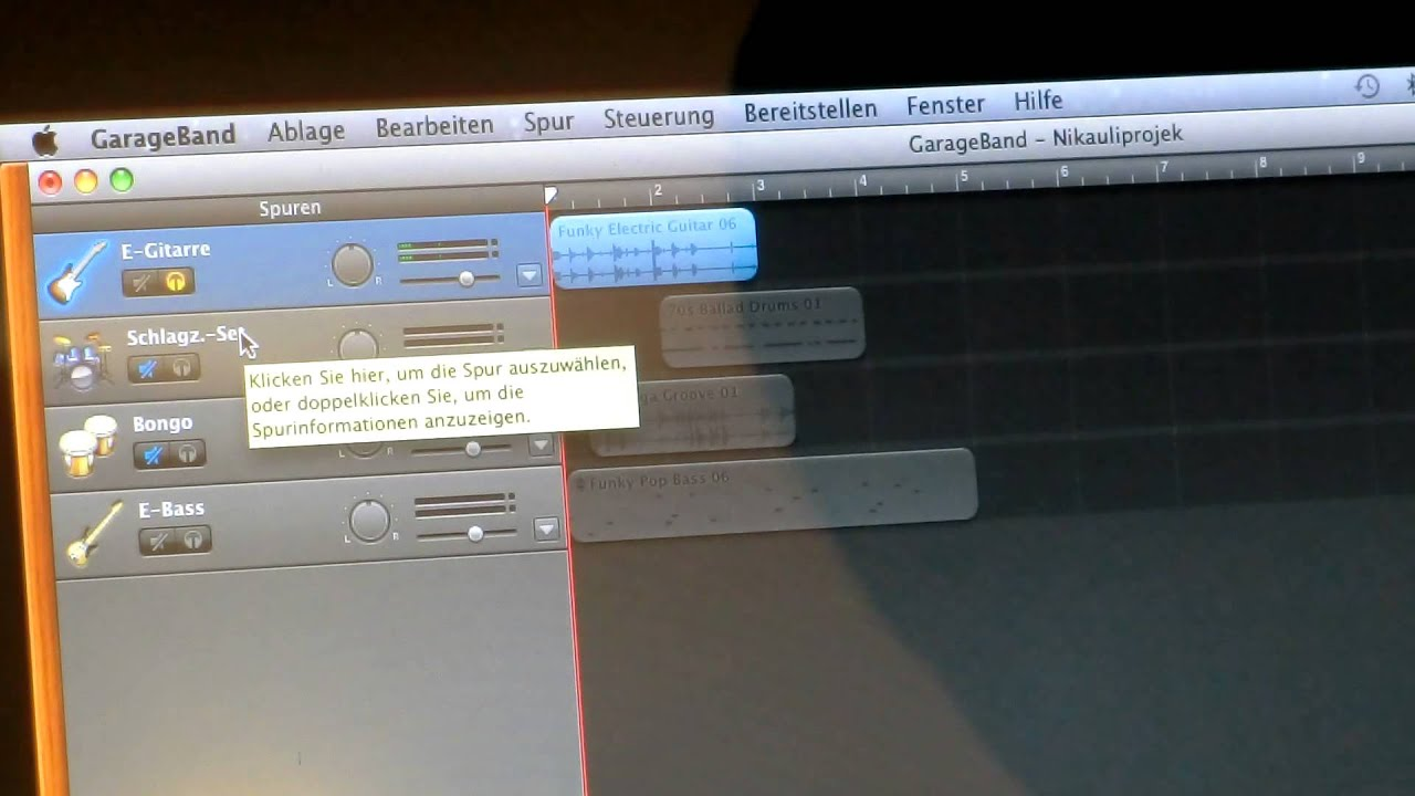 how to make your own music on garageband