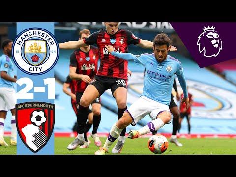 HIGHLIGHTS! | Man City 2-1 Bournemouth | SILVA FREE KICK AND GABRIEL JESUS