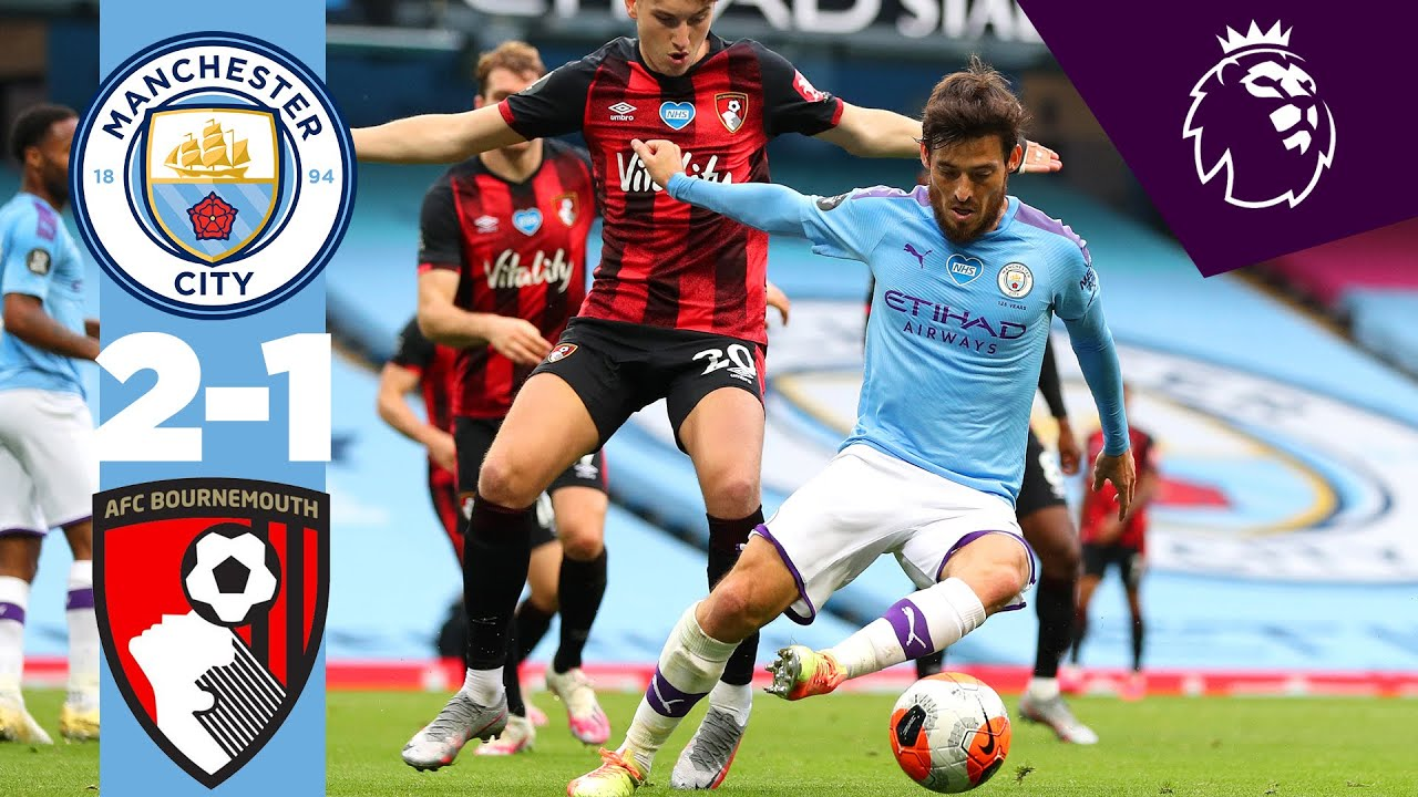 Manchester City 2-1 AFC Bournemouth