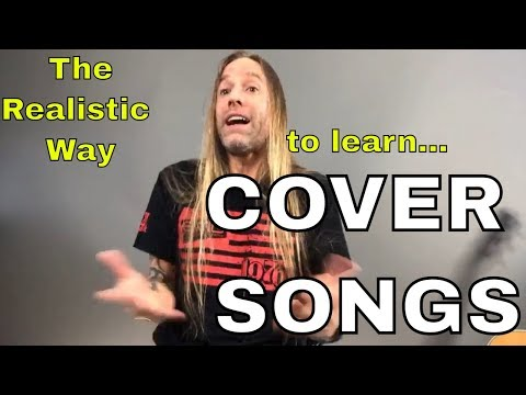 Three approaches to recording and performing cover songs