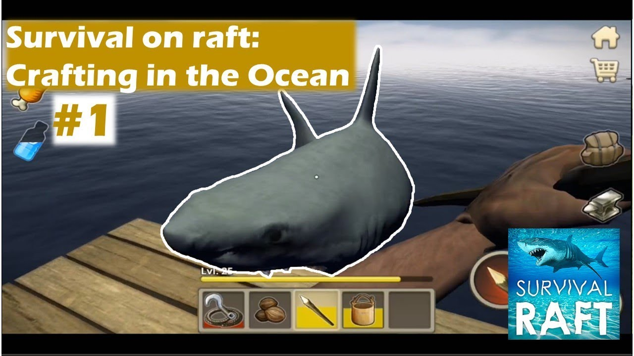A NEW BEGINNING   Survival on raft: Crafting in the Ocean Part 1