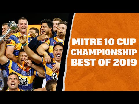 Mitre 10 Cup: 2019 Championship Highlights