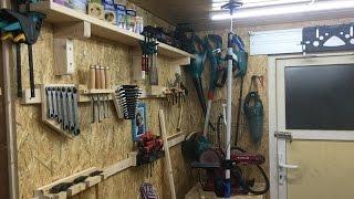 French cleat wand selber bauen - Werkzeugwand selber bauen ...