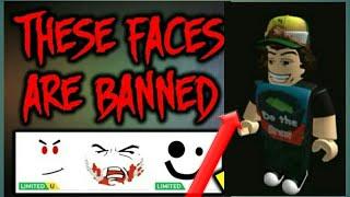 Diese Gesichter sind im Katalog längst verboten... (Roblox)